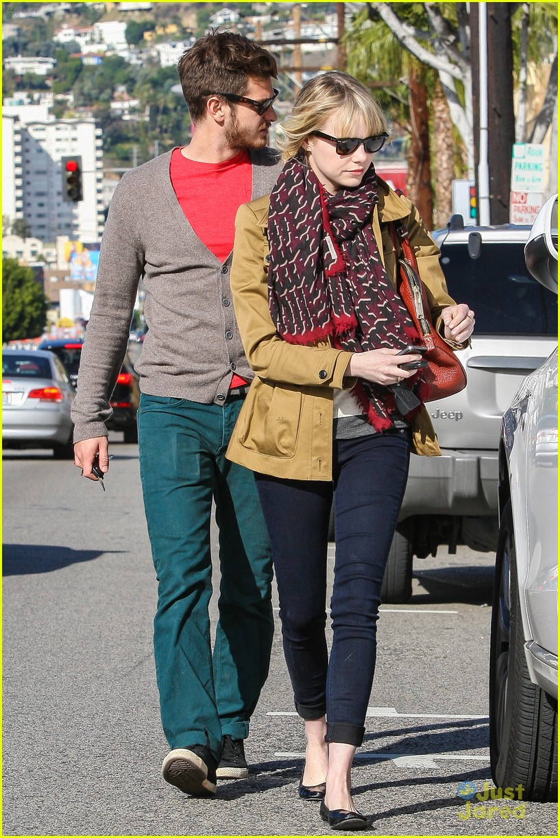 emma stone andrew garfield lunch 11