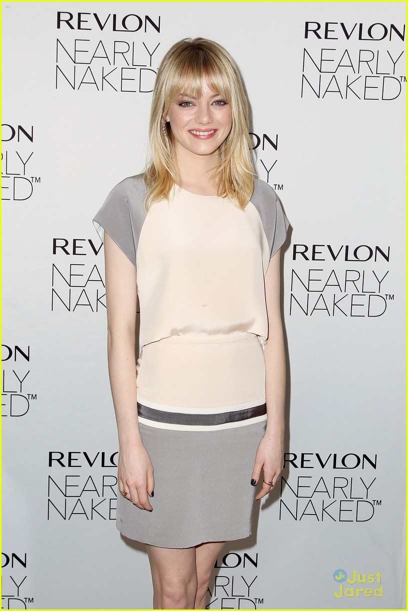 emma stone nearly naked revlon 06