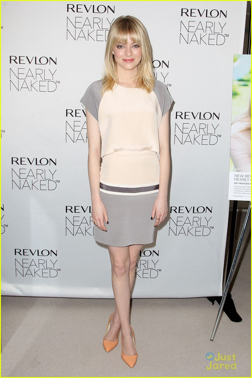 emma stone nearly naked revlon 11