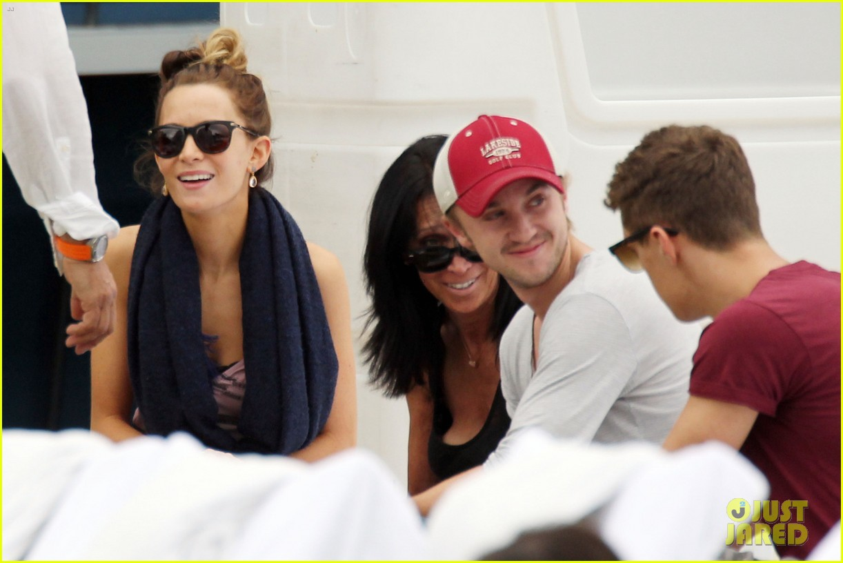 tom felton jade olivia lunch in miami 03