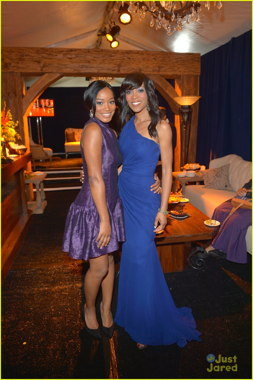 keke palmer amber riley uncf evening stars 11