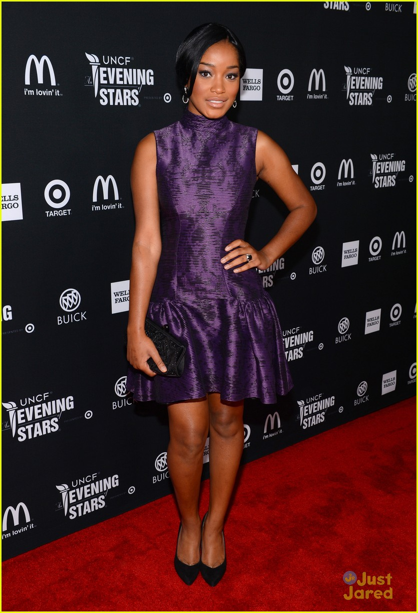 keke palmer amber riley uncf evening stars 14