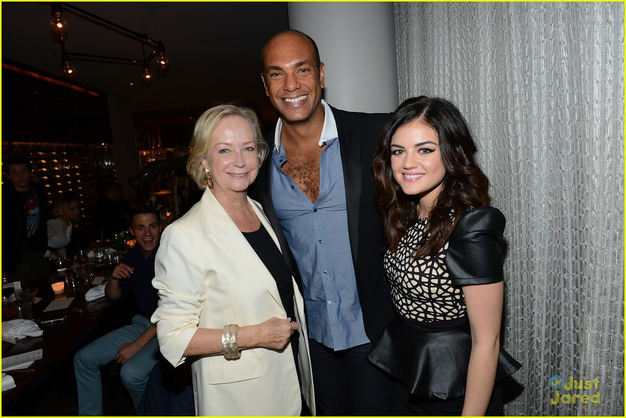 lucy hale nylon cover dinner 14