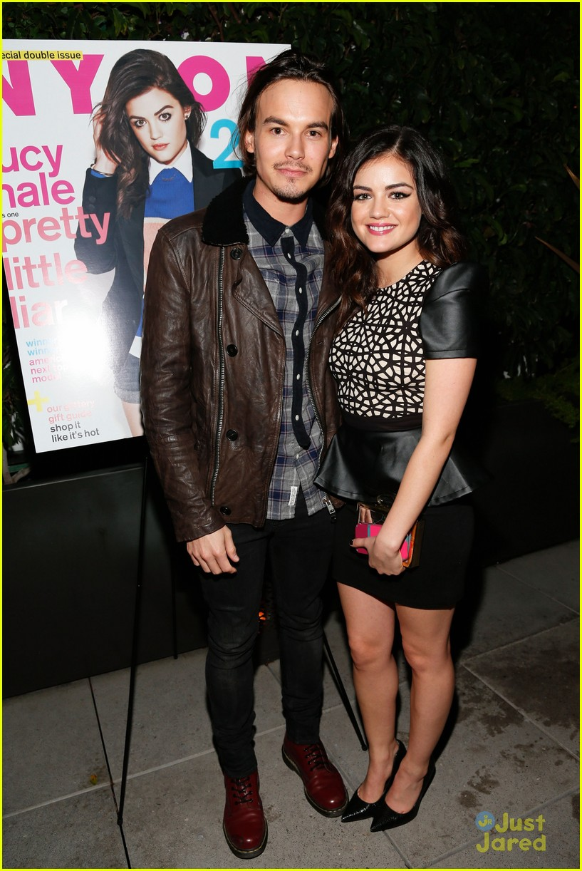 lucy hale nylon cover dinner 19