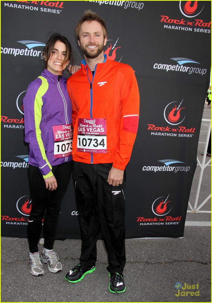 nikki reed paul mcdonald marathon vegas 06