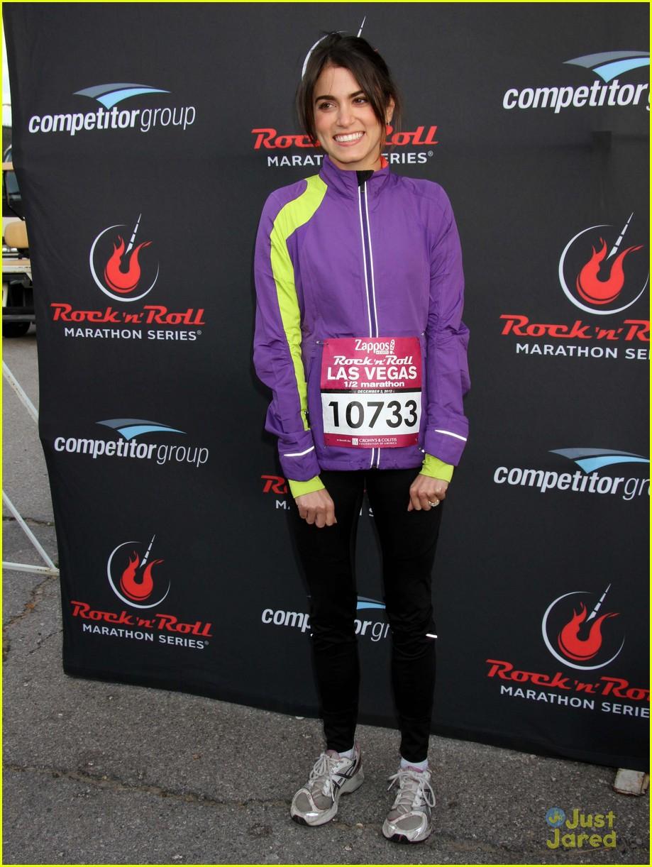 nikki reed paul mcdonald marathon vegas 14