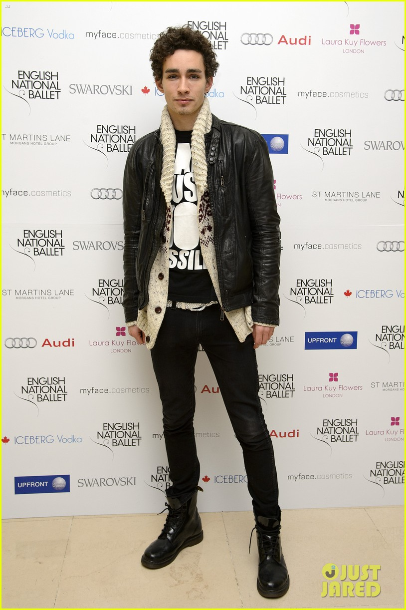 robert sheehan english national ballet christmas party 06
