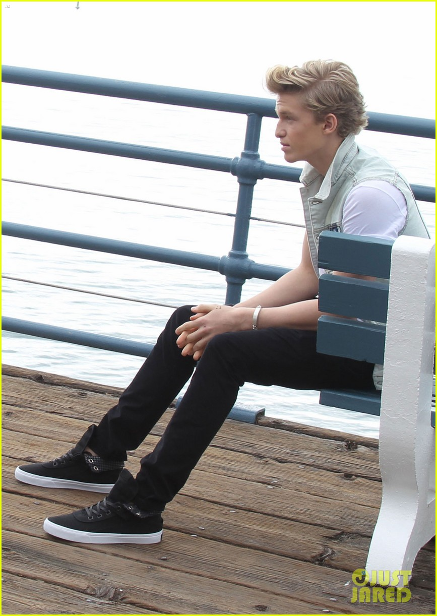 cody simpson waterfront photo shoot 05