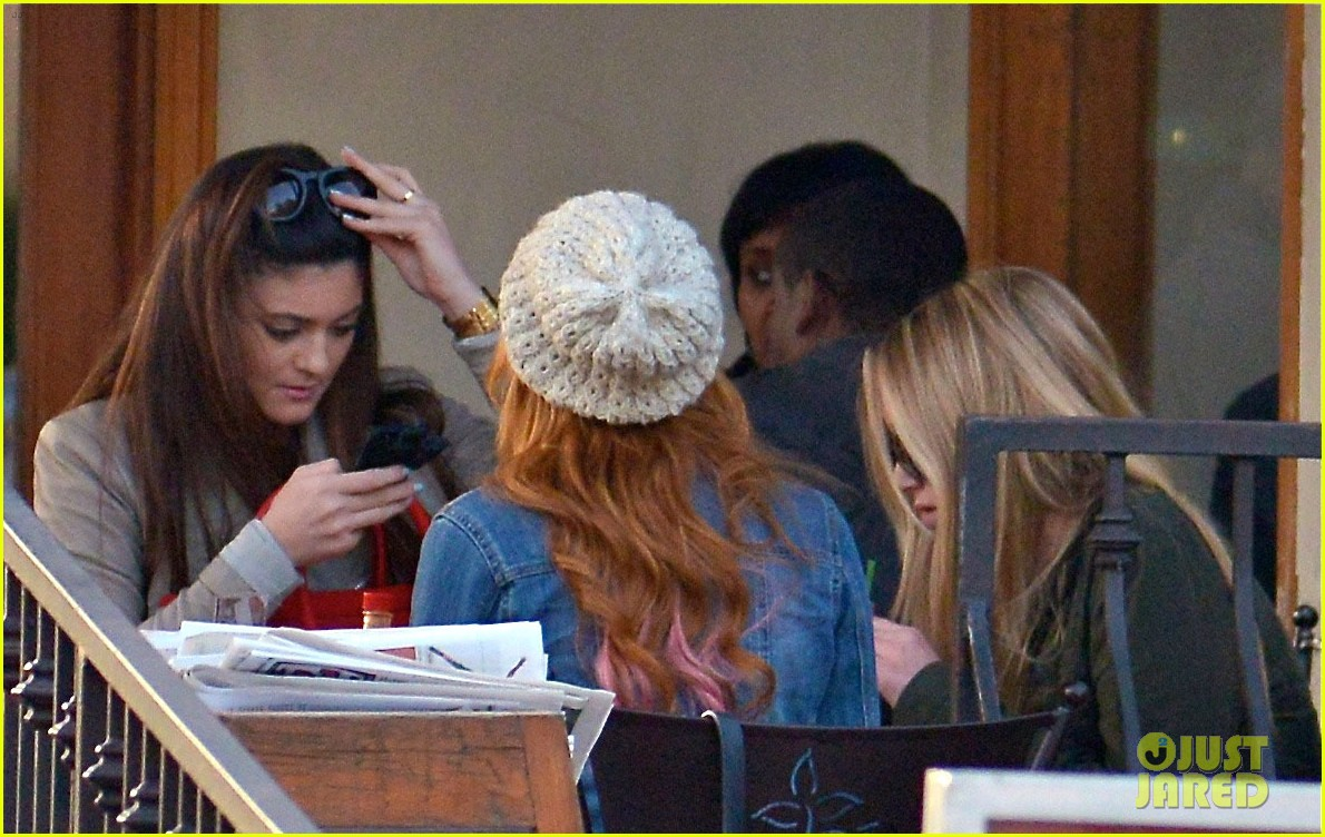 bela thorne kylie jenner lunch 27