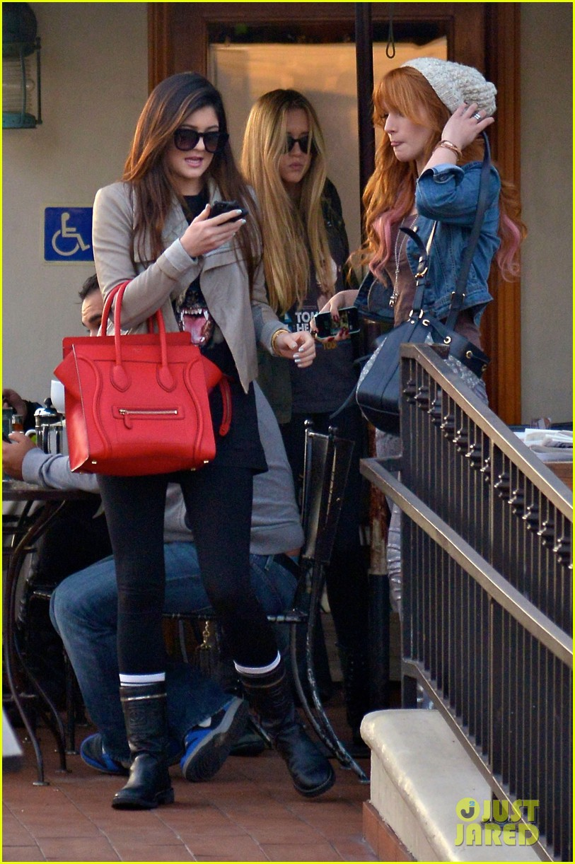 bela thorne kylie jenner lunch 31