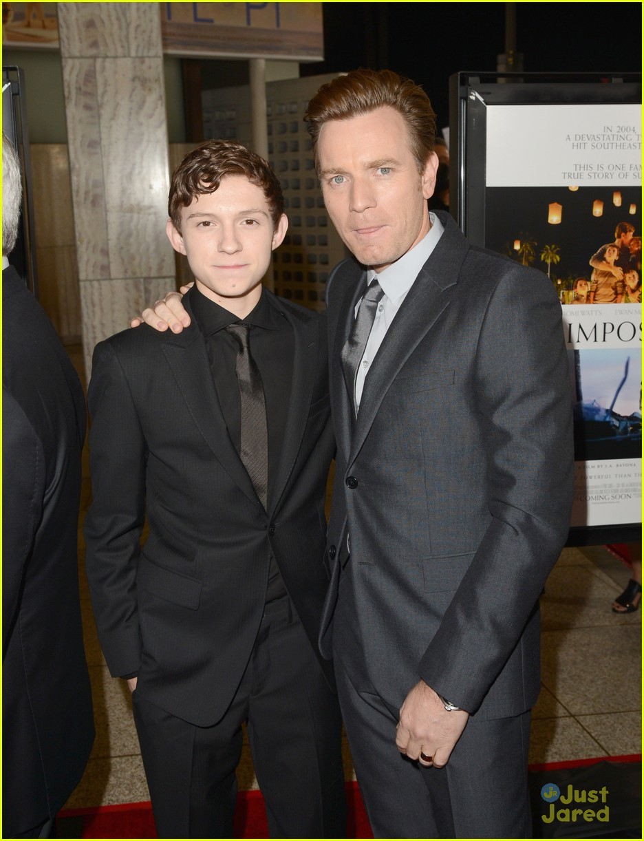 tom holland impossible premiere 13