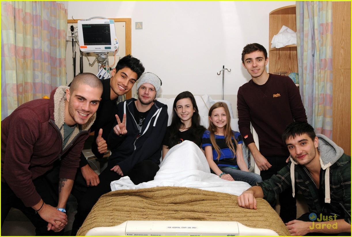 wanted jingle ball hospital visit 17