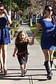 ariel winter blue lace dress 07