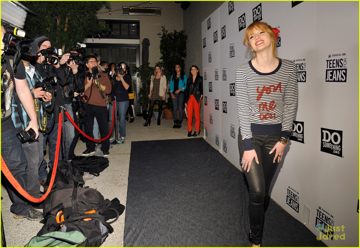 bella thorne teens jeans launch 14