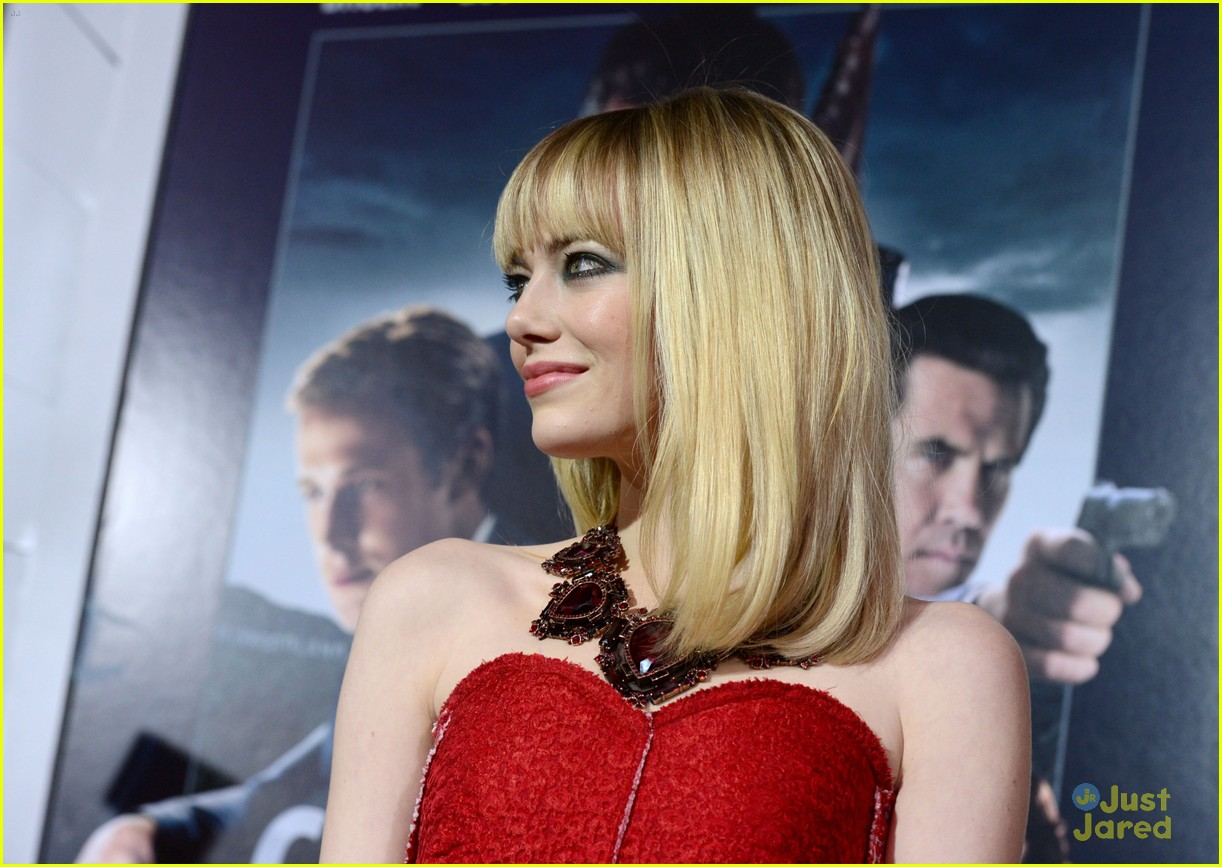 emma stone gangster premiere 14