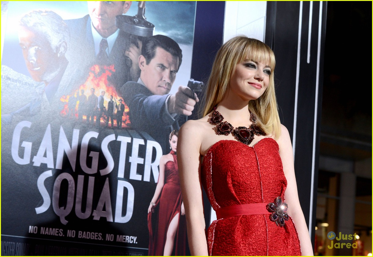 emma stone gangster premiere 21