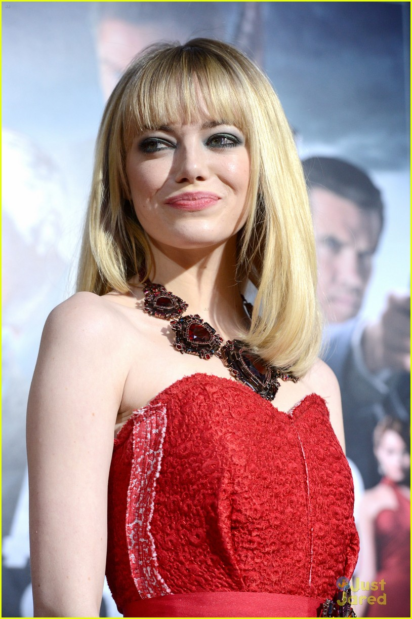 emma stone gangster premiere 22