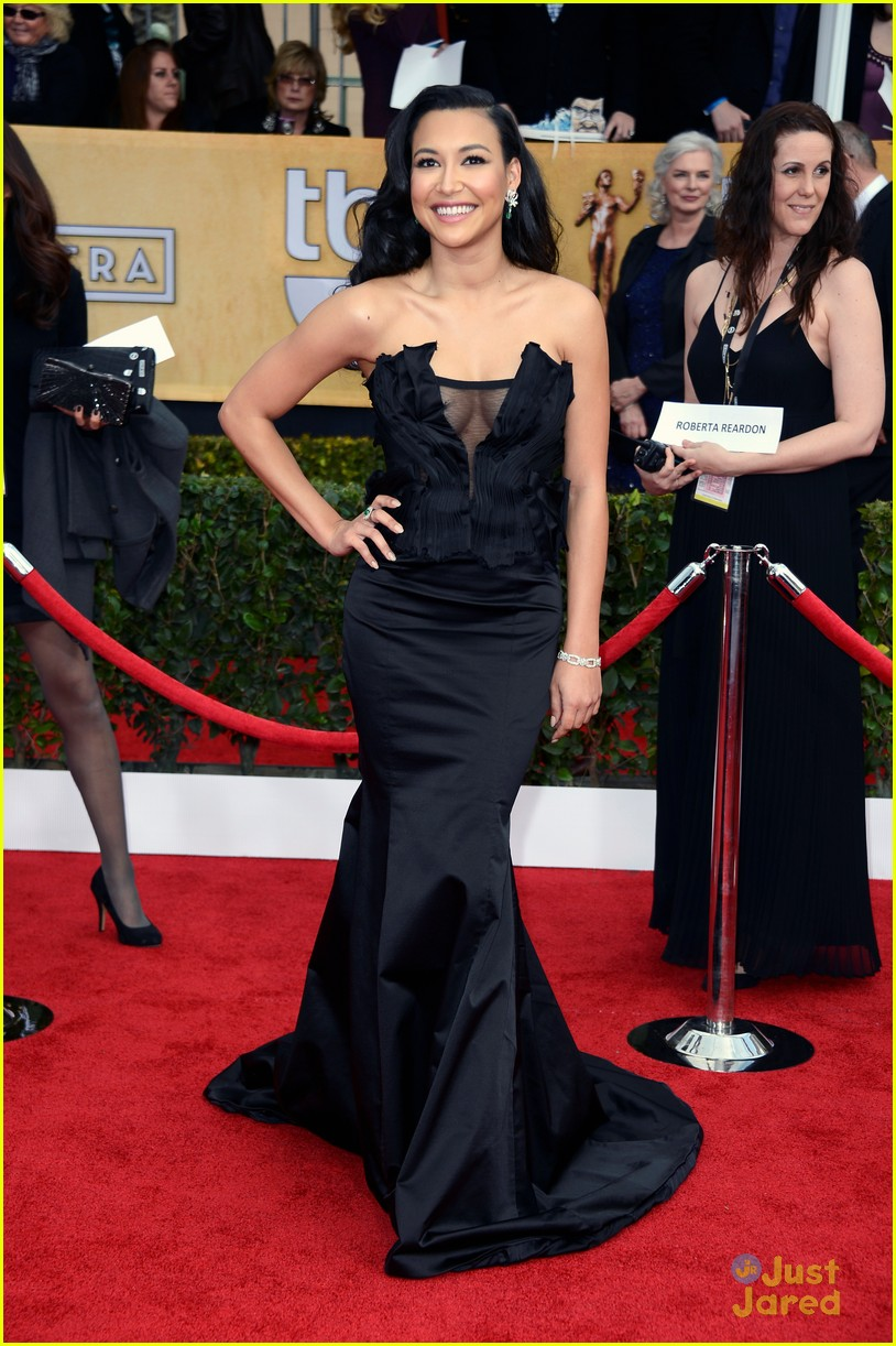 naya rivera vanessa lengies sag awards 01