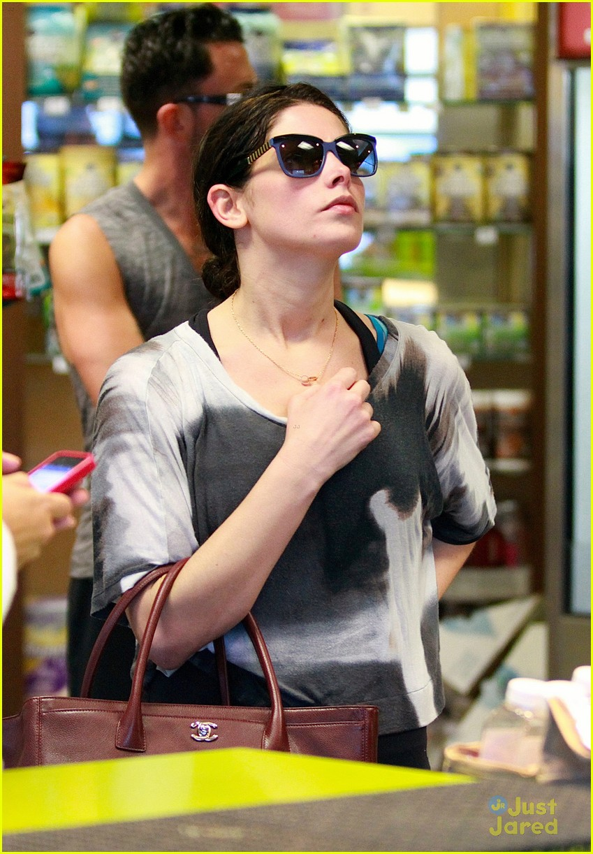 ashley greene smoothie pickup 16