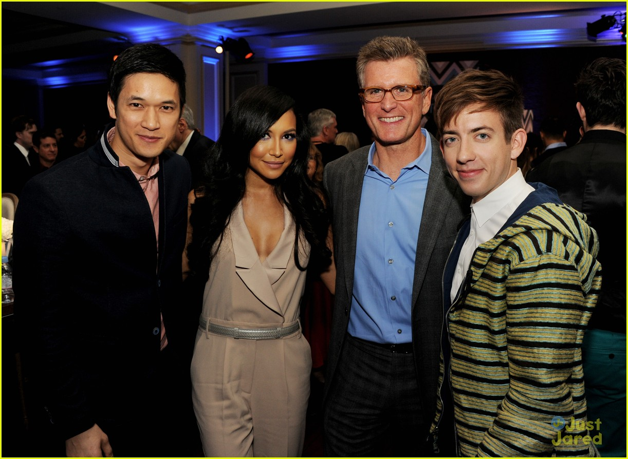 jenna ushkowitz naya rivera kevin mchale fox tca party 01