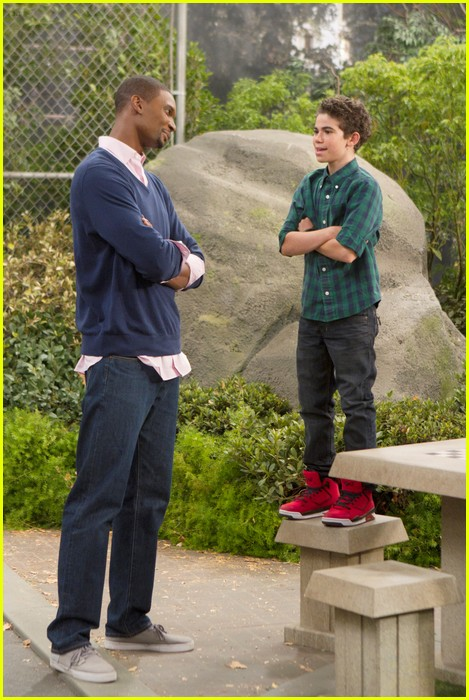 chris bosh guest star jessie 13