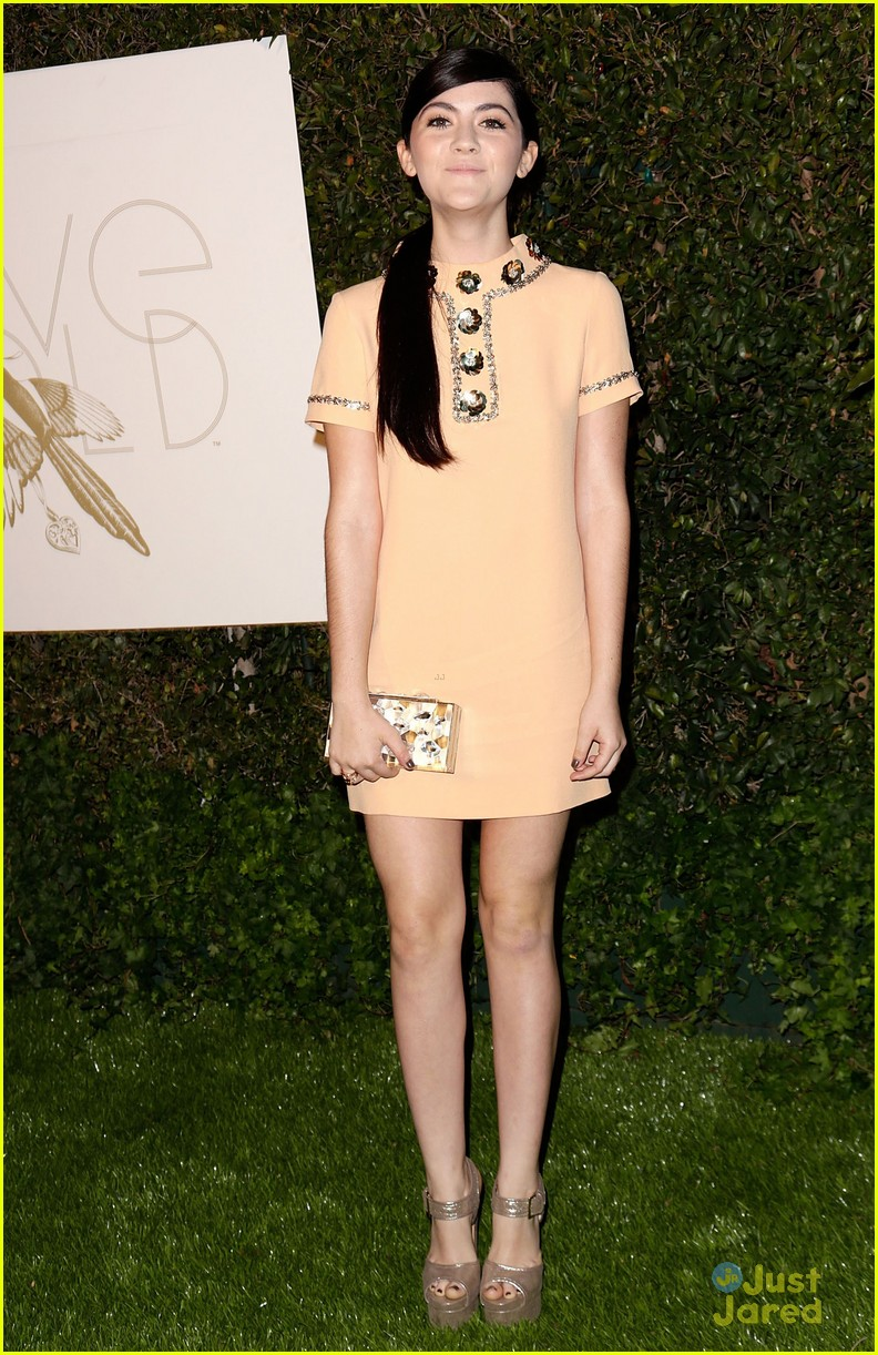 kelsey chow isabelle fuhrman love gold event 07