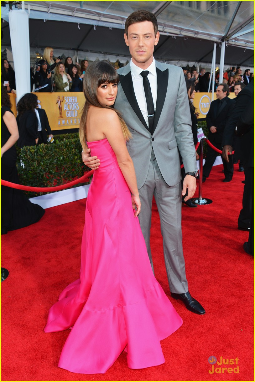 lea michele cory monteith sag awards 03