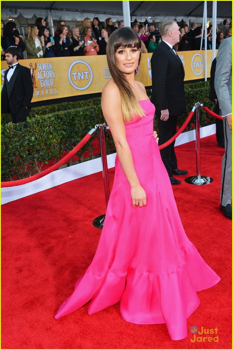 lea michele cory monteith sag awards 05