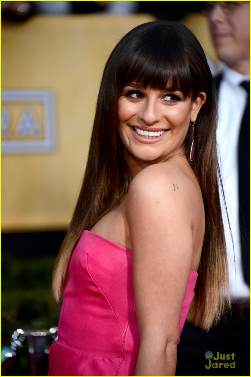 lea michele cory monteith sag awards 06