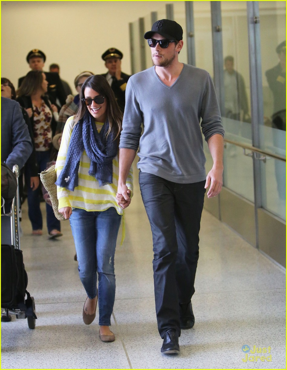 lea michele cory monteith lax 15