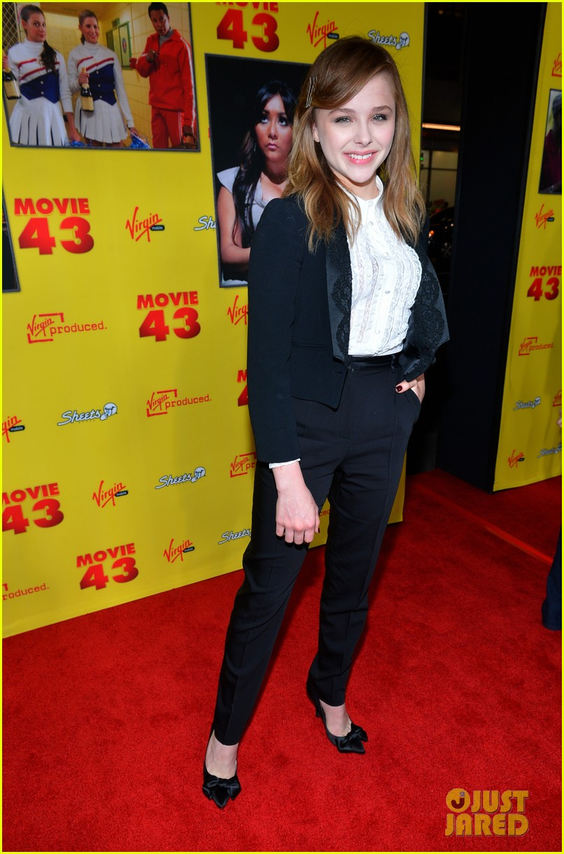 chloe moretz movie 43 premiere 01