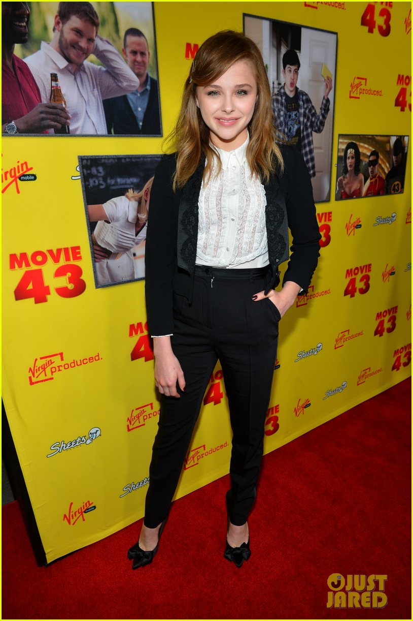chloe moretz movie 43 premiere 03