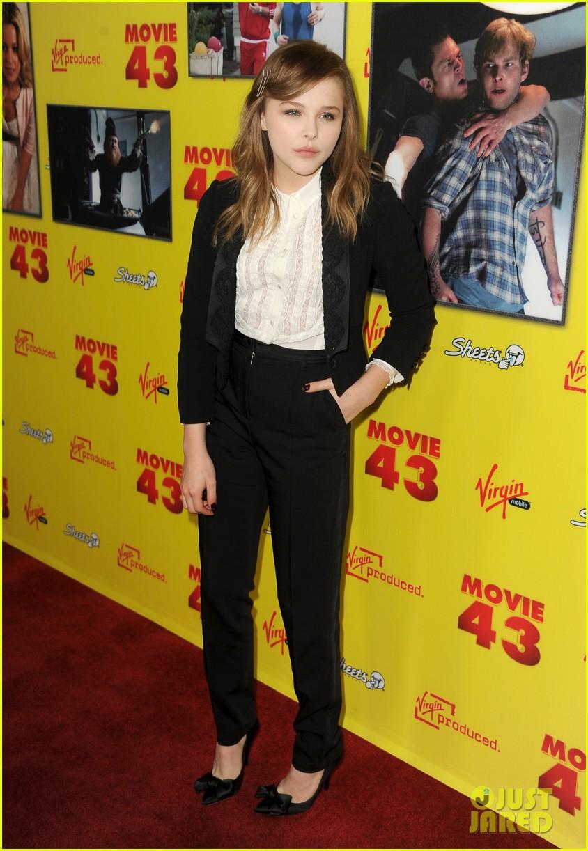 chloe moretz movie 43 premiere 12