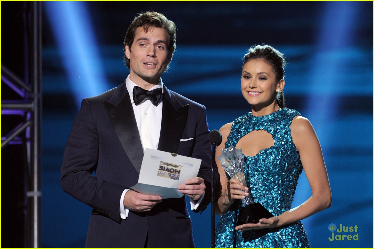 nina dobrev ian somerhalder paul cory critics choice 06
