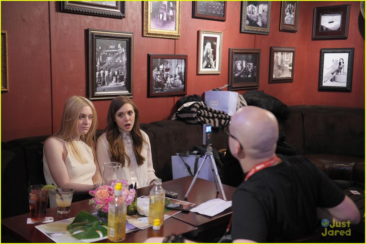 elizabeth olsen dakota fanning vgg interviews 02