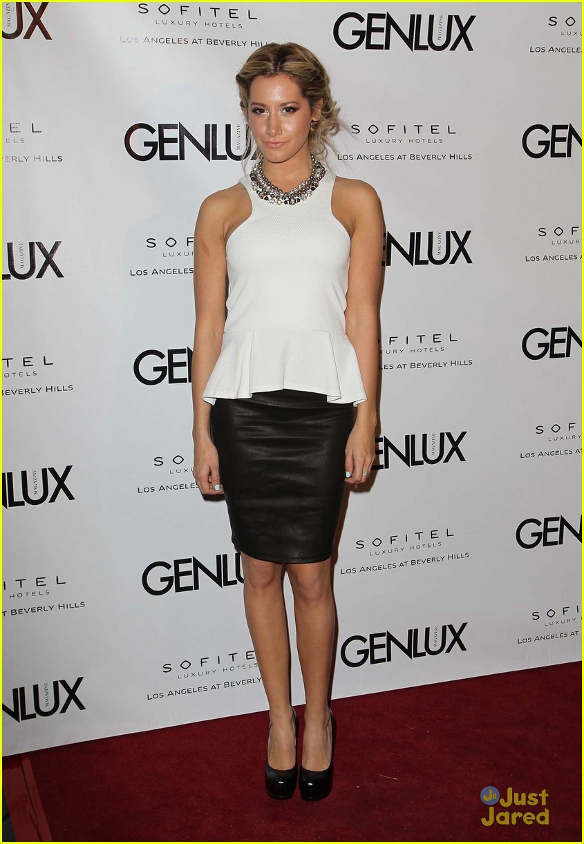 ashley tisdale genlux event 11