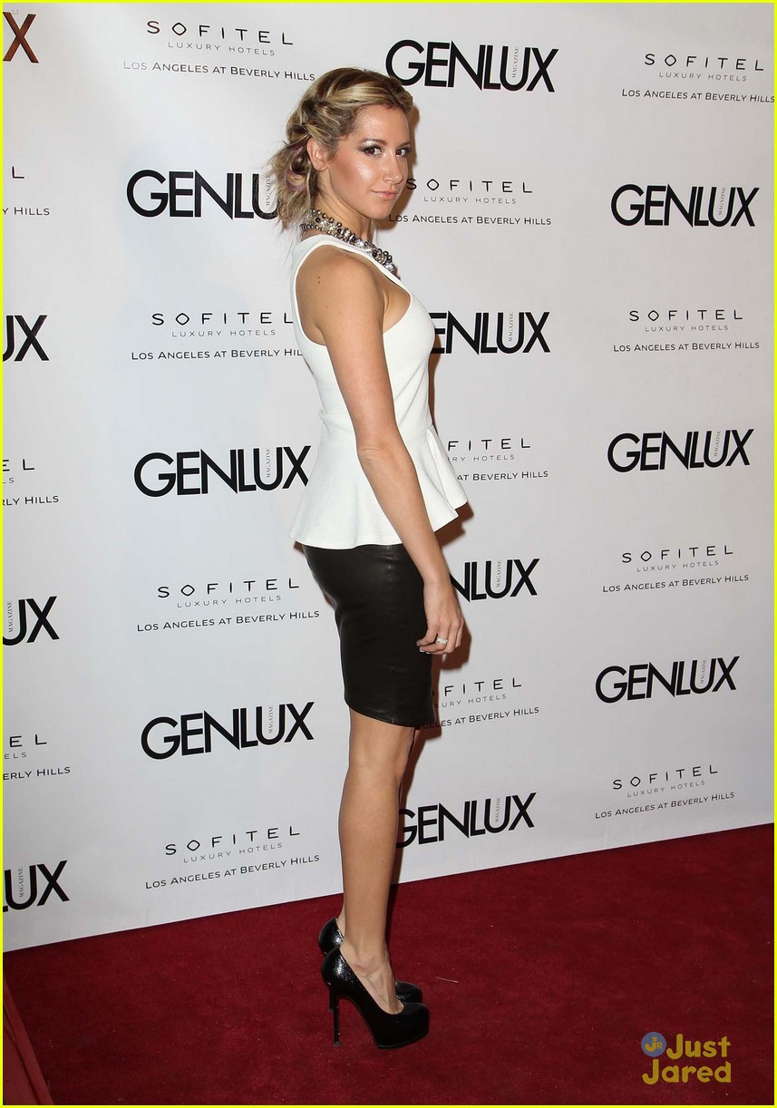 ashley tisdale genlux event 13