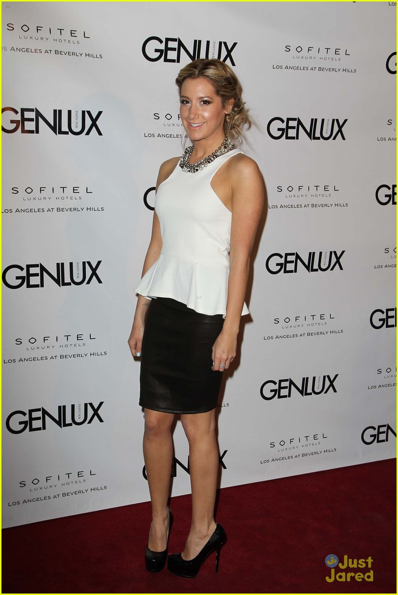 ashley tisdale genlux event 15