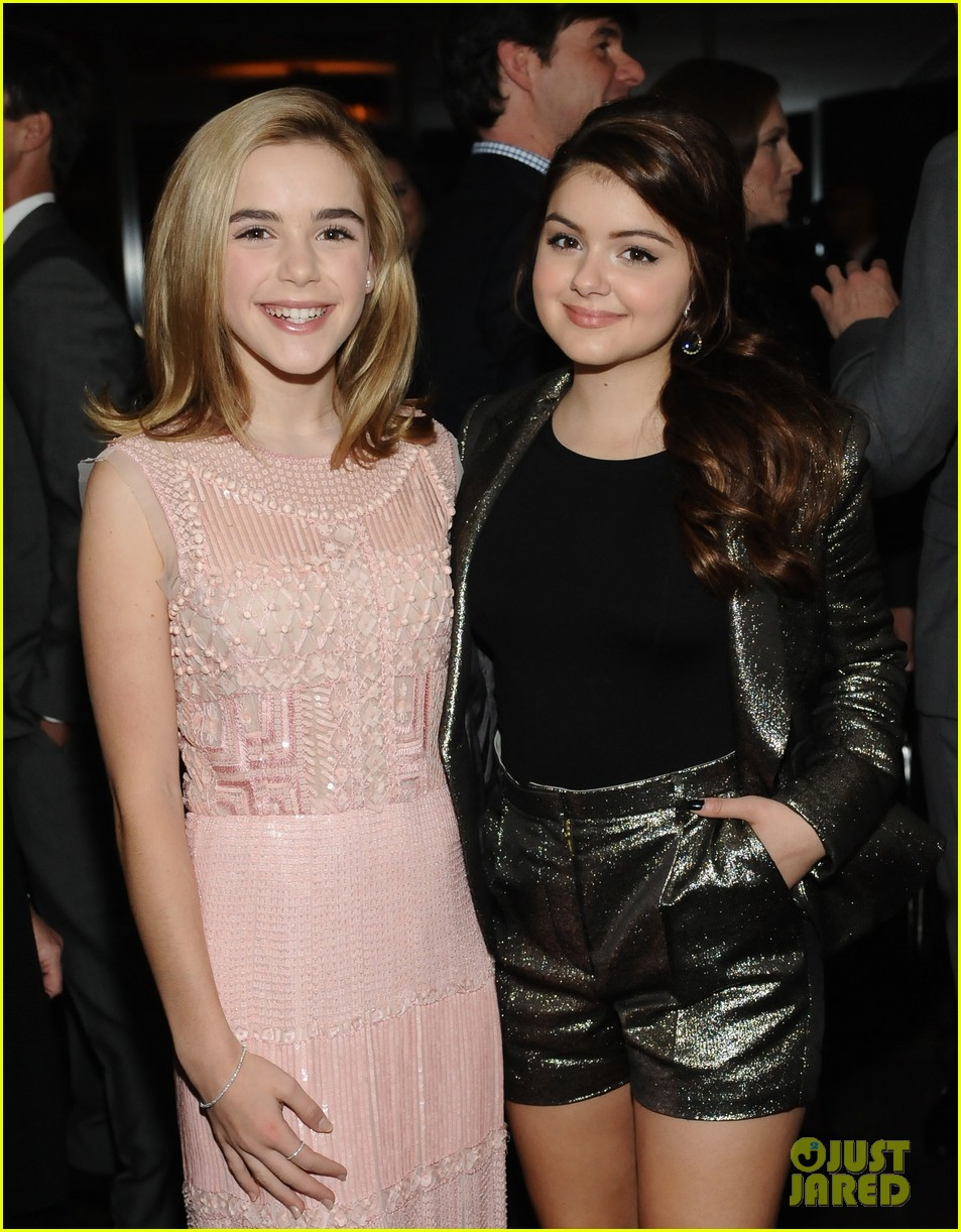 ariel winter kiernan shipka elle event 03