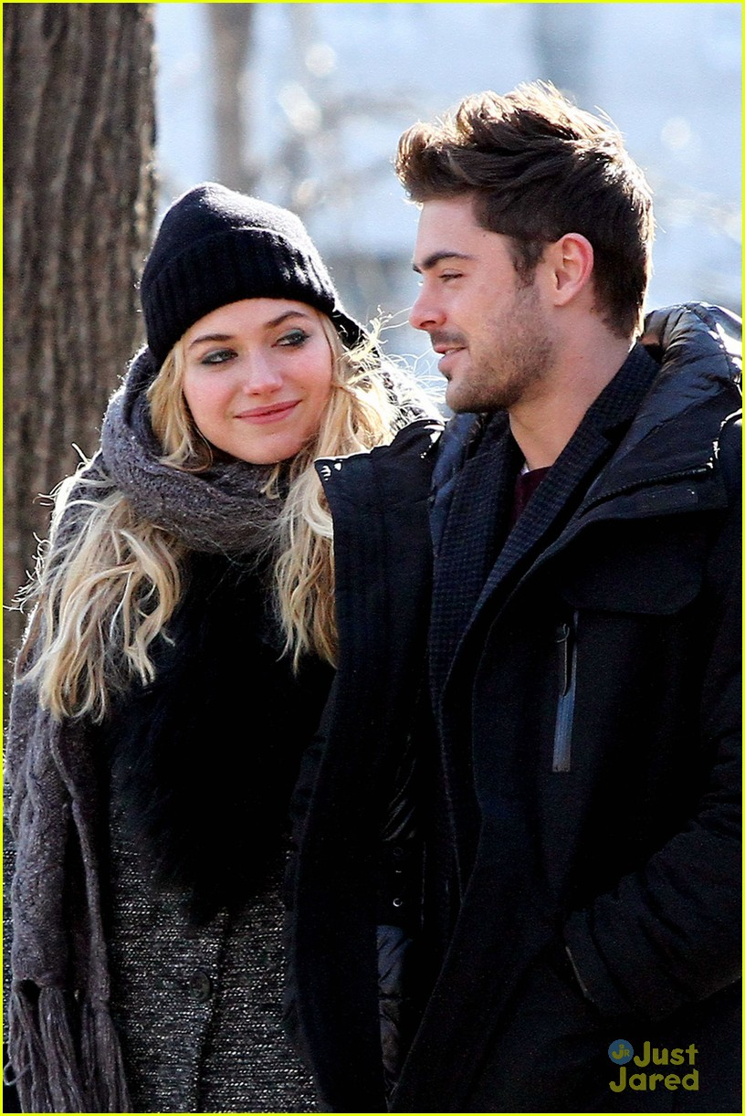 zac efron imogen poots walk dating 02