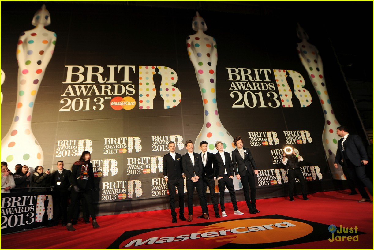 one direction brit awards 05