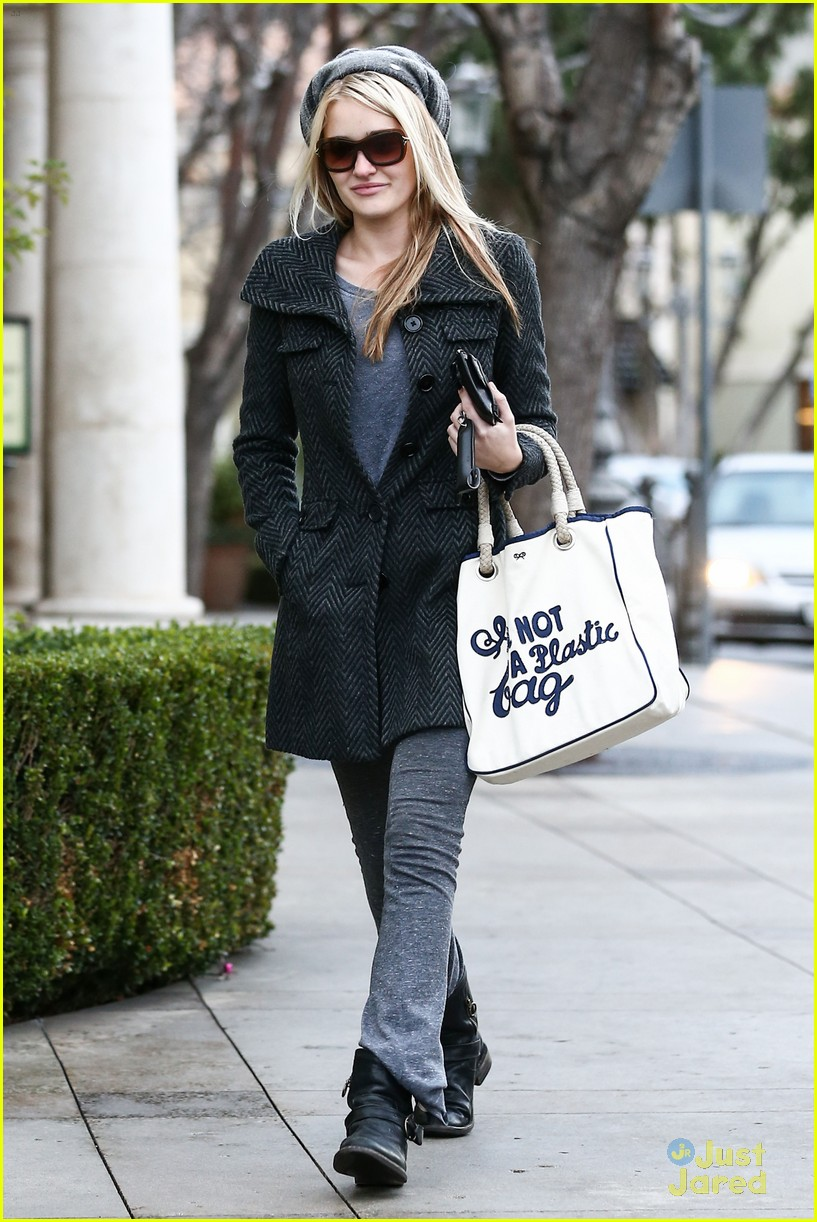 aj michalka plastic bag purse 02