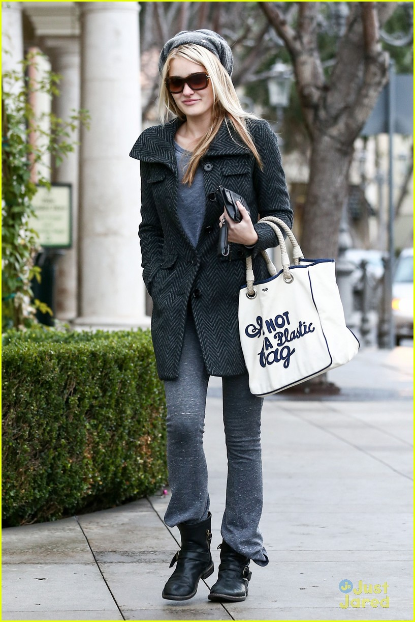 aj michalka plastic bag purse 10