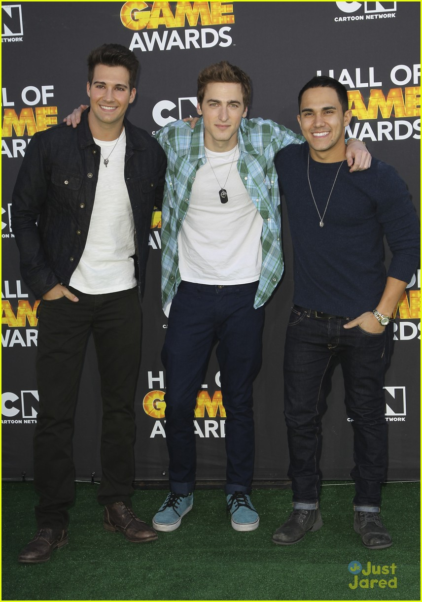 big time rush level up hall game awards 07