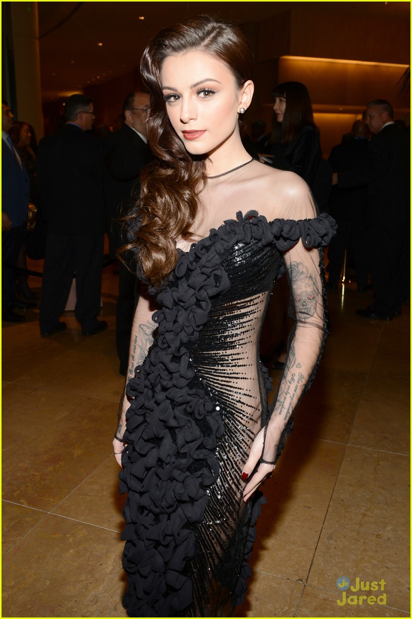 cher lloyd clive davis grammy party 02