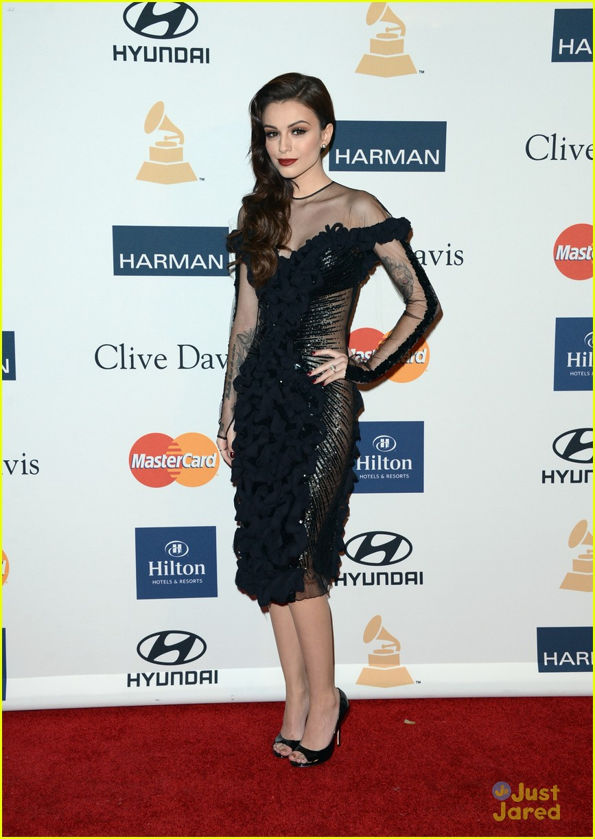 cher lloyd clive davis grammy party 03