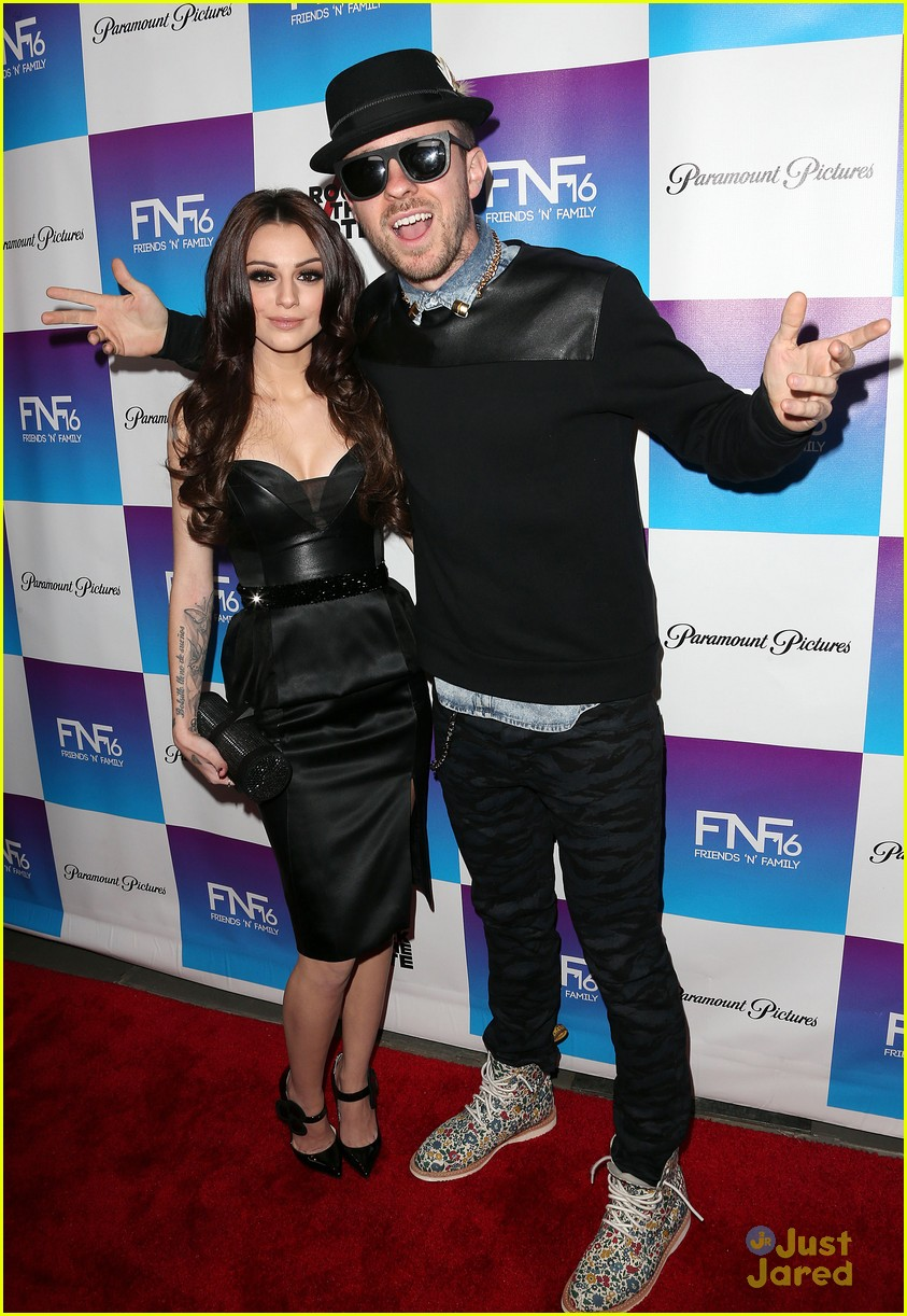 cher lloyd friends family pregrammy event 01