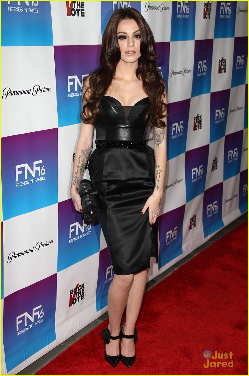 cher lloyd friends family pregrammy event 03