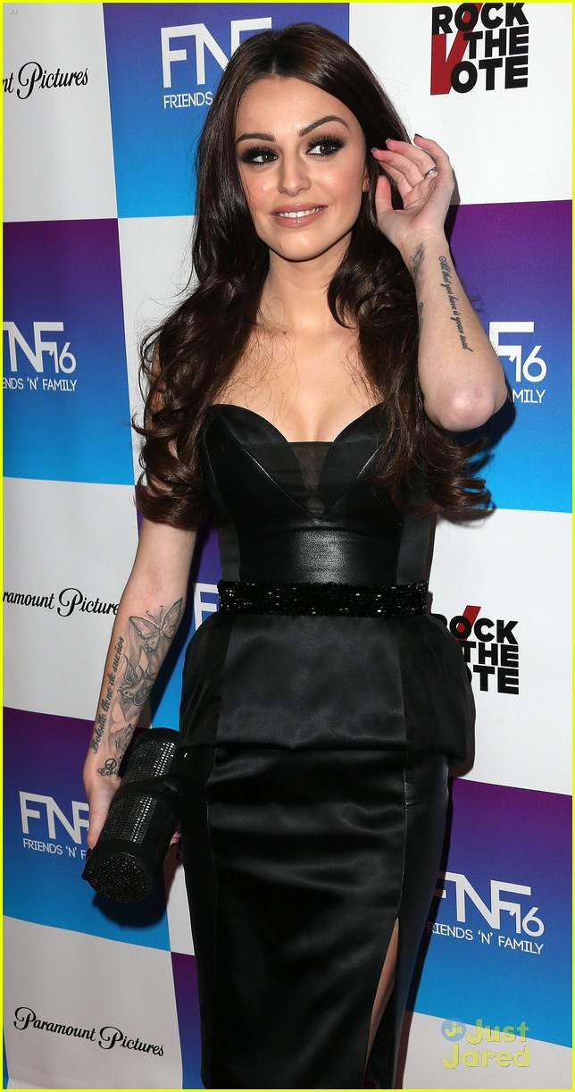 cher lloyd friends family pregrammy event 06