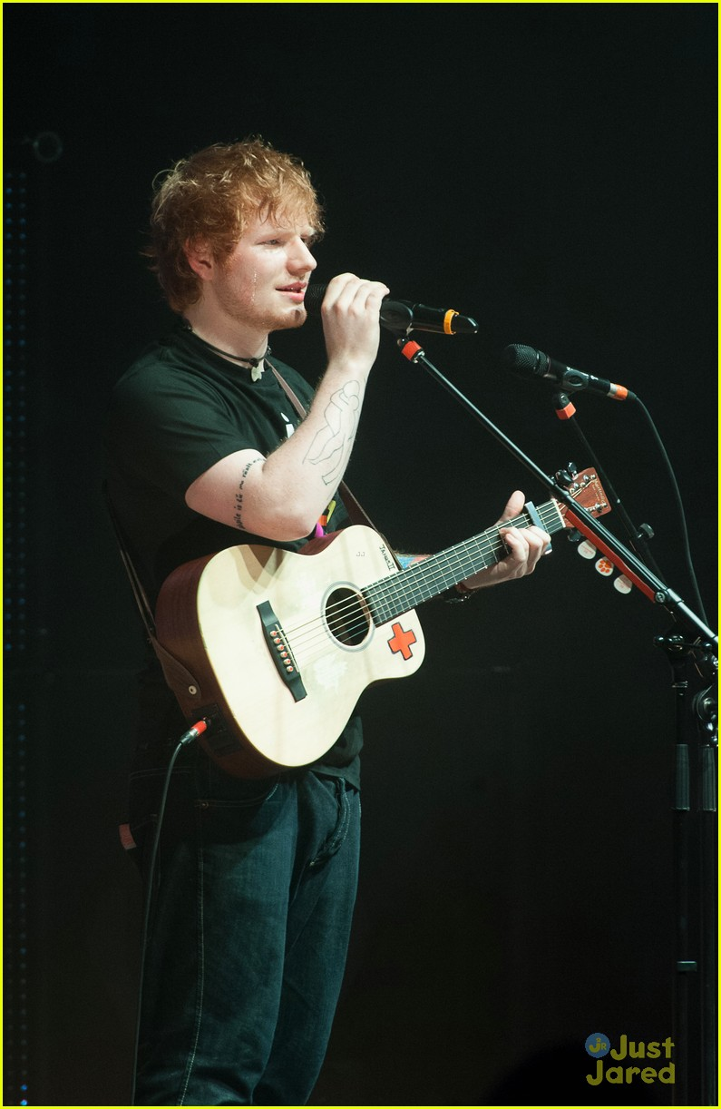 ed sheeran today show stop 06